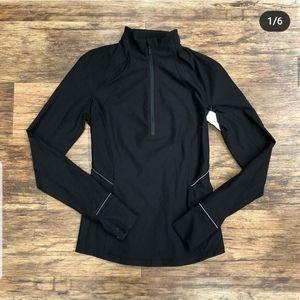 Lululemon Black 1/4 Zip Pullover